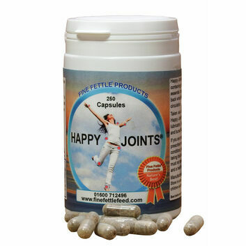 Fine Fettle Products Happy Joints Capsules For Humans