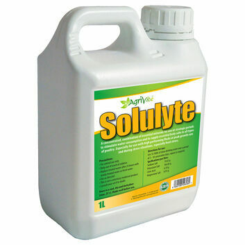 Agrivite Solulyte Nutritional Electrolyte Aid For Poultry