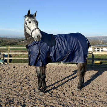 Whitaker Turnout Rug Standard Neck Firgrove 200 Gm Navy