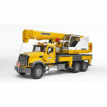 Bruder MACK Granite Liebherr Crane Truck 1:16 - DAMAGED BOX