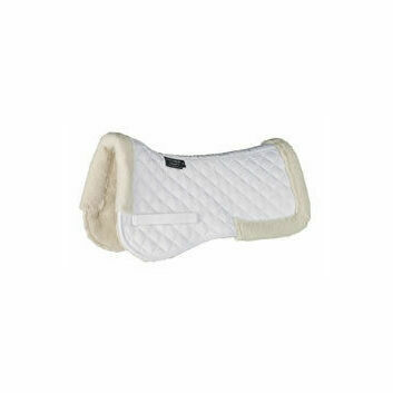 Cottage Craft Half Pad Synthetic Wool White