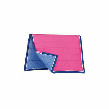 Cottage Craft Saddlepad Cushion Reversible Pink/Blue