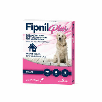 Fipnil Plus Spot-On For Large Dogs 20-40Kg