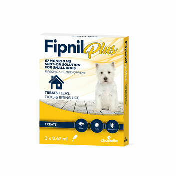 Fipnil Plus Spot-On For Small Dogs 2-10Kg