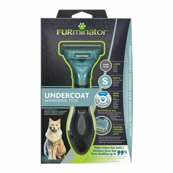 Furminator Undercoat Deshedding Tool For Long Hair Cat