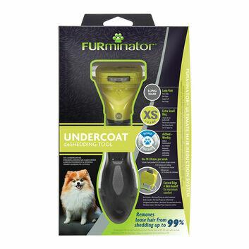 Furminator Undercoat Deshedding Tool For Long Hair Dog