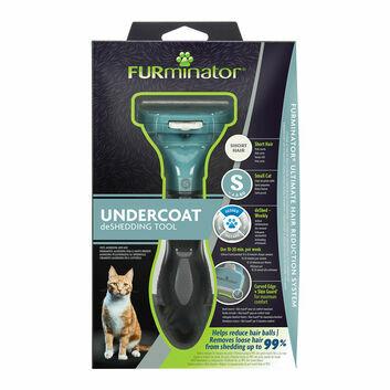 Furminator Undercoat Deshedding Tool For Short Hair Cat