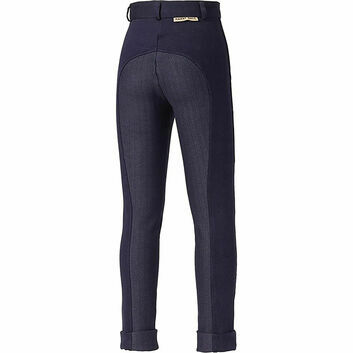 Harry Hall Jodhpurs Chester Sticky Bum Junior Navy