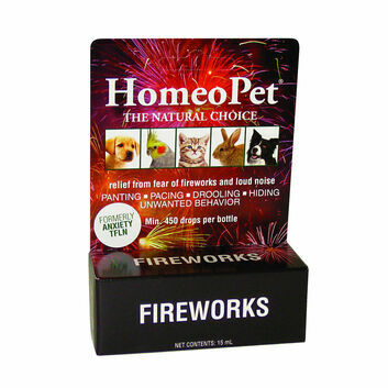 Homeopet Fireworks Cat/Dog Anxiety Drops