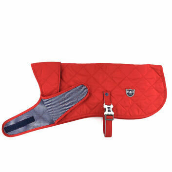 Hugo & Hudson Quilted Jacket Red