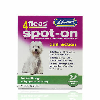 Johnson\'s Veterinary 4Fleas Spot-On For Small Dogs