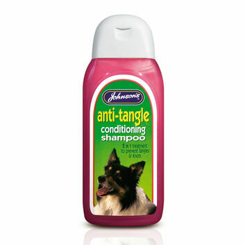 Johnson\'s Veterinary Anti-Tangle Conditioning Shampoo