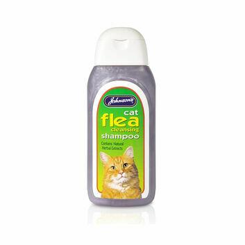 Johnson's Veterinary Cat Flea Cleansing Shampoo