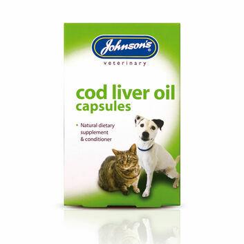Johnson\'s Veterinary Cod Liver Oil Capsules