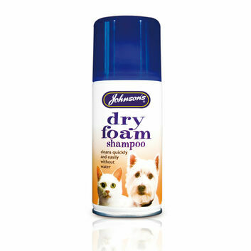 Johnson\'s Veterinary Dry Foam Shampoo