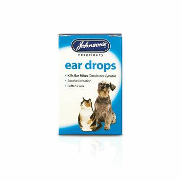 Johnson\'s Veterinary Ear Drops