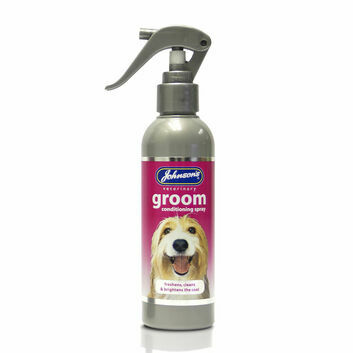 Johnson\'s Veterinary Groom Conditioning Spray