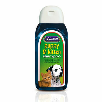 Johnson\'s Veterinary Puppy & Kitten Shampoo
