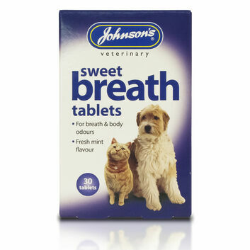 Johnson\'s Veterinary Sweet Breath Tablets