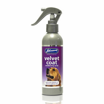 Johnson\'s Veterinary Velvet Coat Conditioning Spray