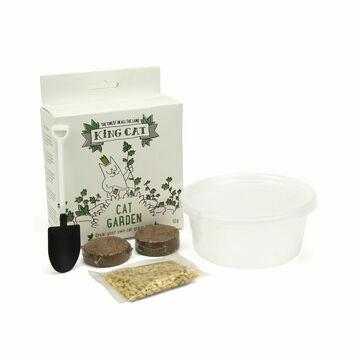 King Catnip Cat Grass Kit
