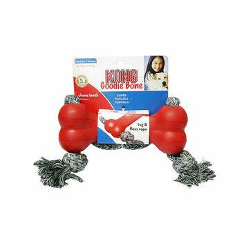 Kong Goodie Bone With Tug Rope