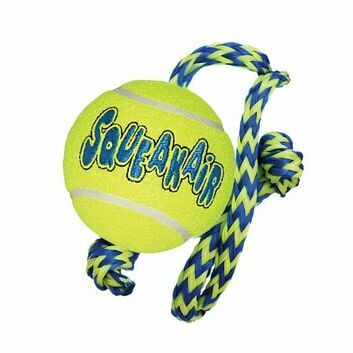 Kong Squeakair Ball C/W Rope