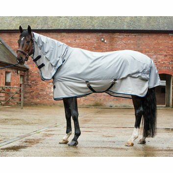 Mark Todd Fly Rug Showerproof Combo Grey/Silver
