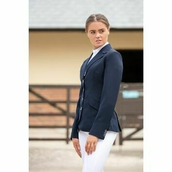 Mark Todd Show Jacket Elite Ladies Navy