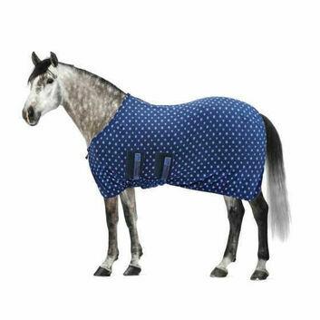 Masta Fleece Rug Base Layer Standard Neck Blue Stars