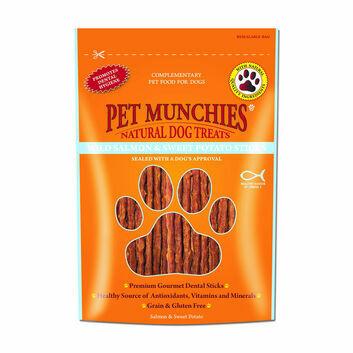Pet Munchies Wild Salmon & Sweet Potato Sticks