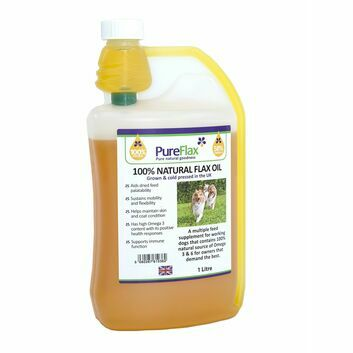 Pureflax Linseed Oil For Dogs