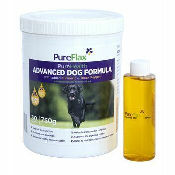 Pureflax Purehealth Advanced Dog Formula Plus Foc Sample