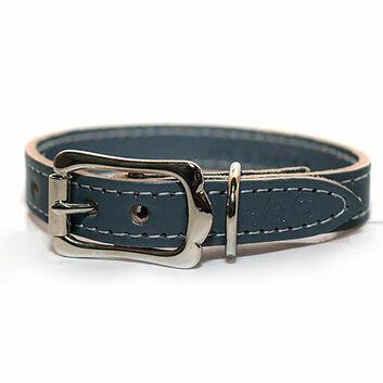 Ralph & Co Dog Collar Leather Firenze Mist Grey
