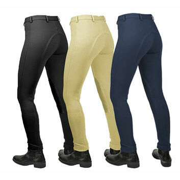 Saddlecraft Jiggy Jodhpurs Ladies Navy