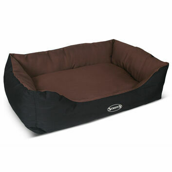 Scruffs Expedition Box Bed Chocolate