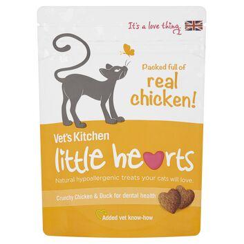 Vet\'S Kitchen Little Hearts Cat Treats Chicken