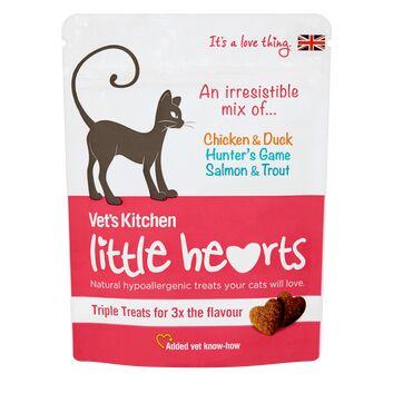 Vet\'S Kitchen Little Hearts Cat Treats Triple