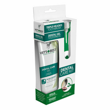 Vets Best Dental Care Kit For Dogs - Brush & Gel