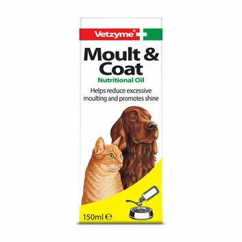 Vetzyme Moult & Coat Formula