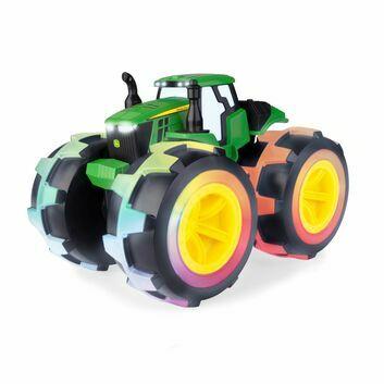 Britains John Deere Monster Treads Deluxe Lightning Wheels Tractor