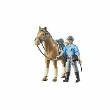 Bruder bworld Horse Mounted Police Officer 1:16