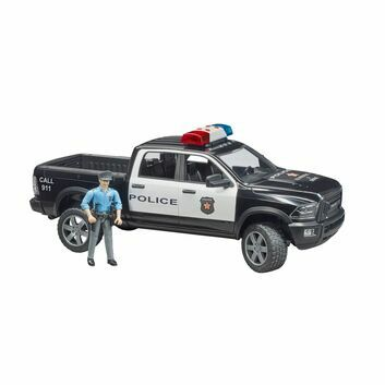 Bruder RAM 2500 Police truck with policeman 1:16