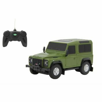 Jamara Remote Control Land Rover Defender Green 1:24
