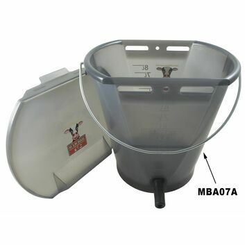 Milk Bar™ Euro Calf Bucket Single Teat Feeder - MBA07A