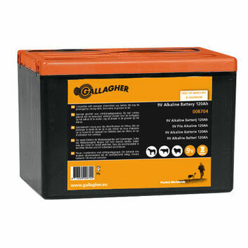 Gallagher Powerpack 9V Energiser Battery - 120Ah