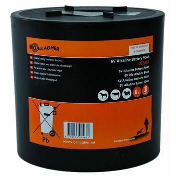 Gallagher Round 6V Alkaline Battery - 90Ah