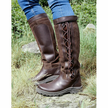 Brogini Winchester Country Boots Wide Brown