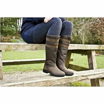 Brogini Longridge Boots Adult Wide Brown