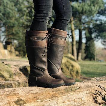 Brogini Warwick Country Boots Adult Standard Brown